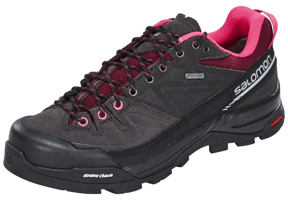 Salomon X Ultra LTR Hiking Shoes Women Bordeaux/Asphalt/Steel Grey 37 1/3 2017 Trekking- & Wanderschuhe fIve2